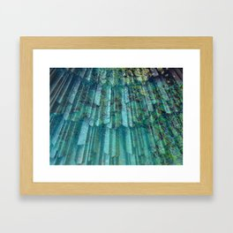 Underwater Reflection Framed Art Print