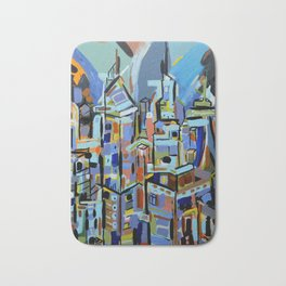Live city Bath Mat