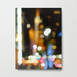 '42nd STREET'S BRIGHT LIGHTS' Metal Print
