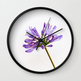 Flowering Wither Wall Clock