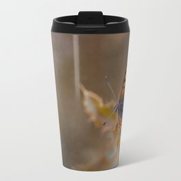 Small Copper butterfly Travel Mug