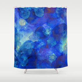 Dream of Blue Shower Curtain