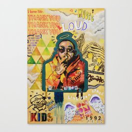 Remember Mac Miller Canvas Print
