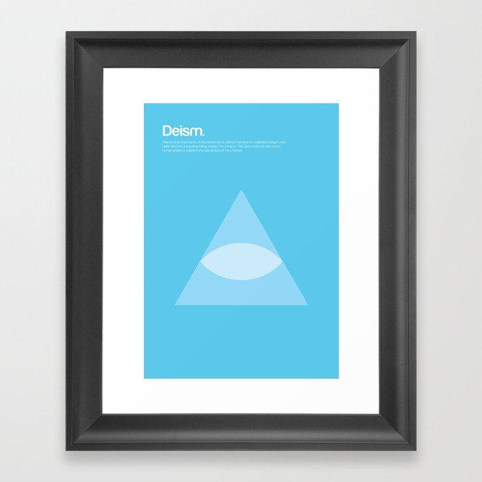 Deism Framed Art Print