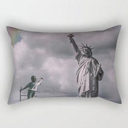 Statues of liberty Rectangular Pillow