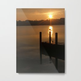 ...and let there now be light. Metal Print