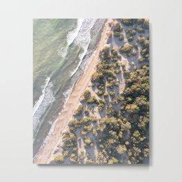 Maremma's shoreline Metal Print