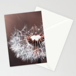Dandelion Flower Stationery Cards