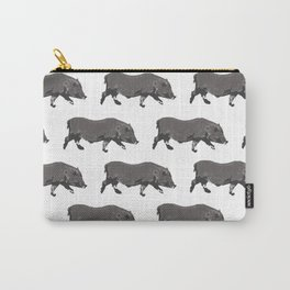Fat Little Pig Pattern Carry-All Pouch