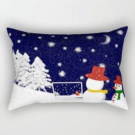Christmastime 1 Rectangular Pillow