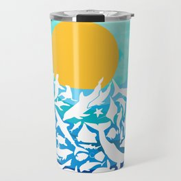 Life in the water Travel Mug