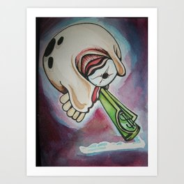 just say no.......... to blow Art Print