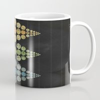 moon phase Mugs featuring Phase 3 by Last Call