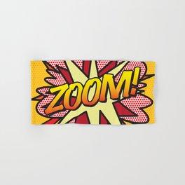 Comic Book ZOOM! Hand & Bath Towel