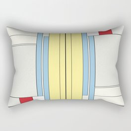 from chaos to order Rectangular Pillow