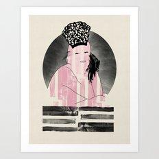 Peineta Art Print