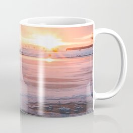 Sunrise at the Pond Coffee Mug