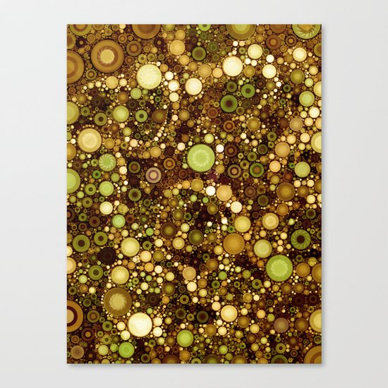 :: Solid Gold :: Canvas Print