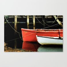 Fishing Dorys Canvas Print