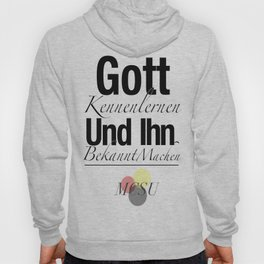 Master's Commission Mission Statement (Deutsch) Hoody