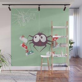 Halloween Spider Wall Mural