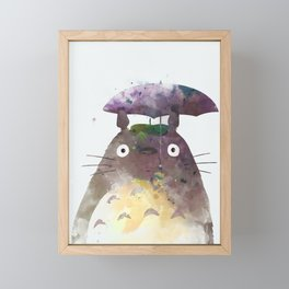 My Neighbour Framed Mini Art Print