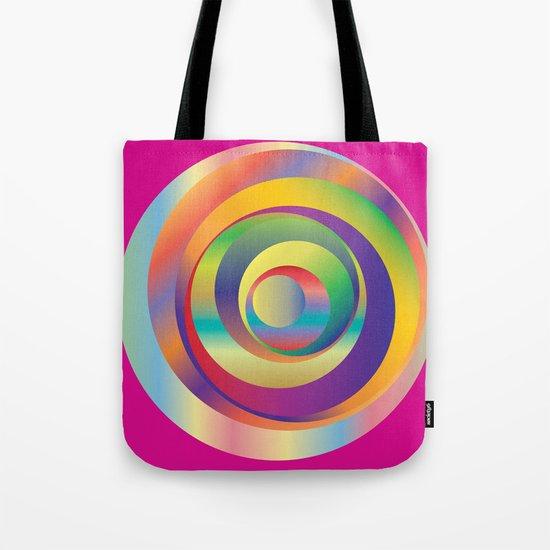 Circles - Optical Game 9 Tote Bag