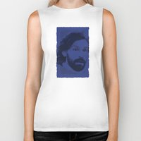 pirlo Biker Tanks featuring World Cup Edition - Andrea Pirlo / Italy by Milan Vuckovic