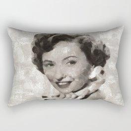Barbara Stanwyck, Hollywood Legend Rectangular Pillow