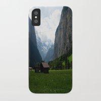 switzerland iPhone & iPod Cases featuring Switzerland (Travel) by Laura Vaisman