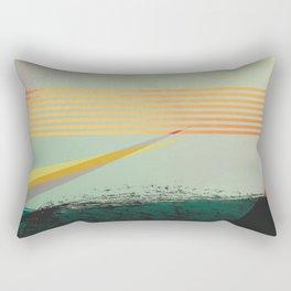 go away, black clouds Rectangular Pillow