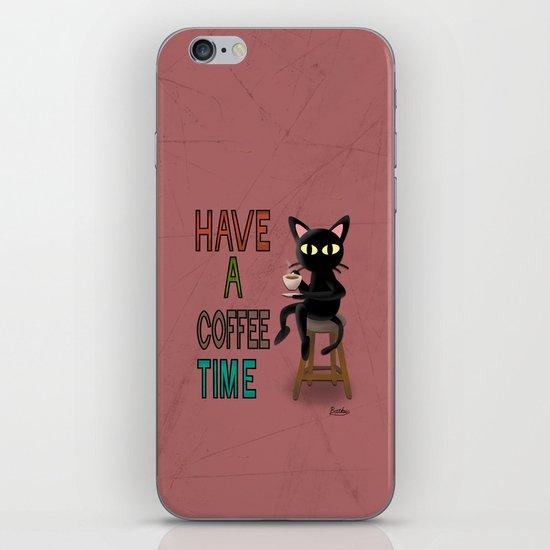 Coffee Time iPhone & iPod Skin
