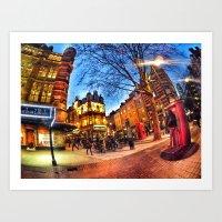 London loves you Art Print