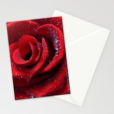 Love Heart Rose Stationery Cards