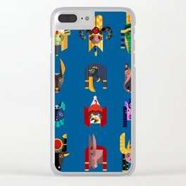 Egyptian Gods! Clear iPhone Case