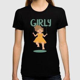 Girly - Jump Rope princess T-shirt