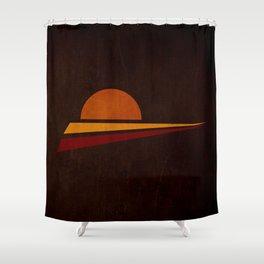 spicchi di sole Shower Curtain
