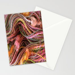 Spring Orchard - Handspun and dyed Yarn Stationery Cards