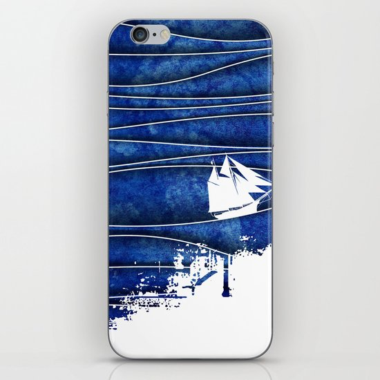 The Lonely Sea iPhone & iPod Skin