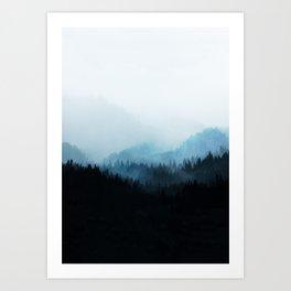 Woods 5Y Art Print