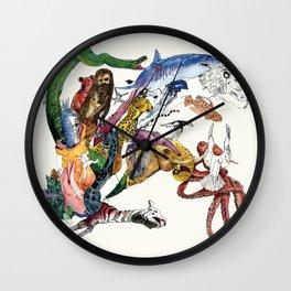 Morning Teleportation Expanding Anyway album cover art Wall Clock
