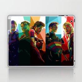 WPAP Avenger - Iron Man, Cap America, Thor, Black Widow, Hulk, Nick, Clint Laptop & iPad Skin