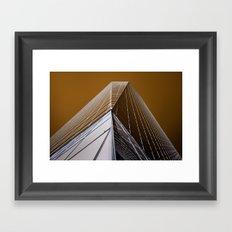 Crystalline Framed Art Print