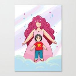 Rose + Steven Canvas Print