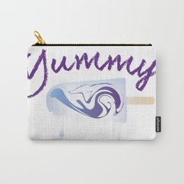 Yummy Bomb Pop Deep Purp Carry-All Pouch