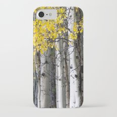 Yellow, Black, and White // Aspen Trees in Crested Butte iPhone 7 Slim Case
