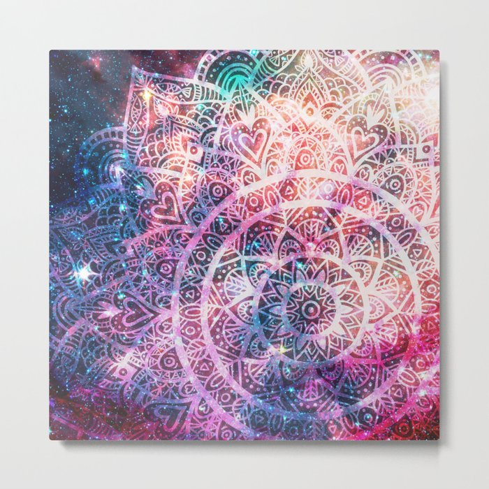 Space mandala 5 Metal Print
