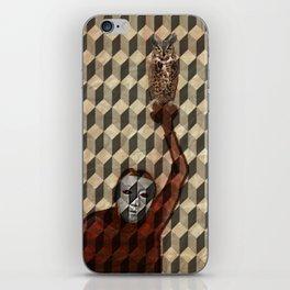 I am the owl iPhone Skin
