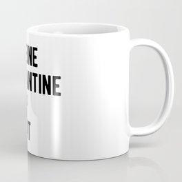Caffeine Quarantine Sleep Repeat Coffee Mug