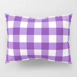 Purple Buffalo Check - more colors Pillow Sham